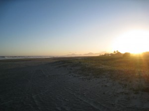 Osmar and the beach